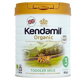 Sữa Kendamil Organic số 3 800g dành cho bé từ 12-36 tháng