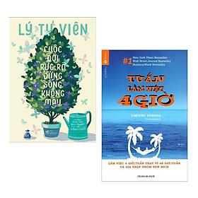 Combo 2 Cuốn Sách Hay Về Kinh Tế: Cuộc Đời Rực Rỡ Đừng Sống Không Màu + Tuần Làm Việc 4 Giờ (Tái Bản) - Tặng Kèm Bookmark Happy Life