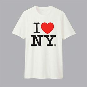 Áo T-shirt Trẻ Em I Love Ny Dotilo B349 - Trắng