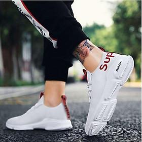 Giày Sneaker Thể Thao Nam 2018 Vải Mềm Phong Cách Hàn Quốc 3Fashion - 3149
