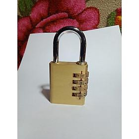 Khóa cửa mã số đồng thau 40mm ( có thể đổi mã)