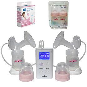 Máy hút sữa Spectra 9S - Tặng kèm bộ 2 bình trữ sữa và 01 túi trữ sữa