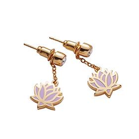 Bông Tai Xinh Xắn U Jewelry 7FLR2700Z1505