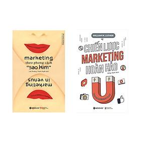 Combo Sách Kỹ Năng Marketing: Marketing Theo Phong Cách Sao Kim + Chiến Lược Marketing Hoàn Hảo