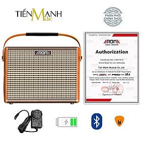 [Bluetooth, Pin sạc] Amply Aroma AG-26A - Loa Ampli Guitar AG26A Amplifier AG26 Hàng Chính Hãng - Kèm Móng Gẩy DreamMaker