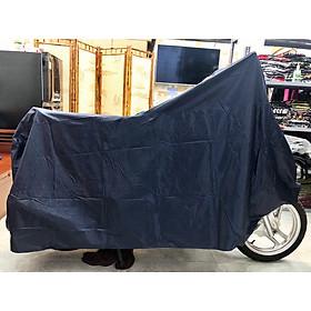 Bạt trùm xe che nắng mưa loại tốt dày màu xanh đen PKXM005