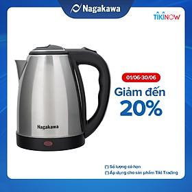 Ấm Siêu Tốc Nagakawa NAG0308 (1.8 Lít) - Hàng Chính Hãng