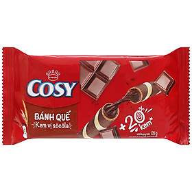 Bánh quế Cosy socola 135g - 33114