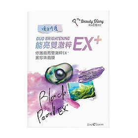Lẻ 1 miếng Mặt nạ My Beauty Diary Ex+ dưỡng da, trắng da gấp đôi