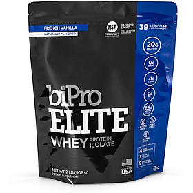 """Tăng cơ Whey Protein 100% Isolate BiPro Elite Chứng nhận """"NSF Certified"""" - Made in USA"""
