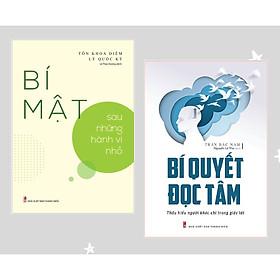 Combo 2 cuốn: Bí Quyết Đọc Tâm - Thấu Hiểu Người Khác Chỉ Trong Giây Lát + Bí Mật Sau Những Hành Vi Nhỏ có bookmark