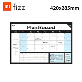 Xiaomi Youpin Fizz Time Management Notepad Efficiency Manual Weekly Tear Sticky Notes Desktop Memo Plan Memo Tracking