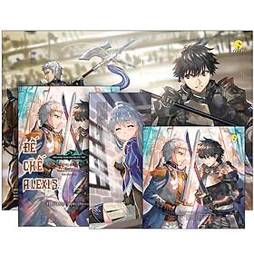Biên Niên Sử Đế Chế Alexis: Kiêu Hùng Rung Chuyển Đất Trời (Tập 7) + 01 Poster Khổ Lớn (42x30 cm) + 01 Postcard (12x12 cm) + 01 Bookmark