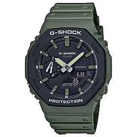 Đồng hồ nam dây nhựa Casio G-Shock chính hãng GA-2110SU-3ADR