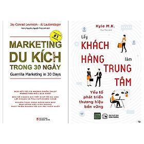 Combo 2 Cuốn: Marketing Du Kích Trong 30 Ngày + The Economics Of Emotion - Lấy Khách Hàng Làm Trung Tâm