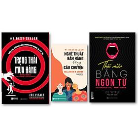 Combo 3 Cuốn  Sách Bán Hàng Tuyệt Đỉnh kt  ; Trạng thái mua hàng: Khoa học thôi miên mới trong kinh doanh và tiếp thị , Nghệ Thuật Bán Hàng Bằng Câu Chuyện , Thôi miên bằng ngôn từ (bìa tím) ,