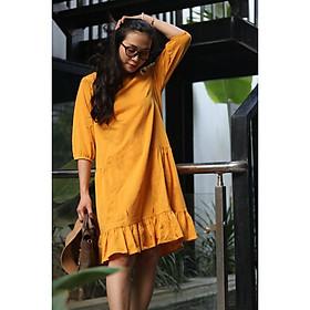 Váy vàng đũi tay dài MB105