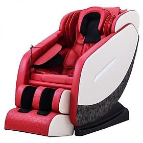 Ghế Massage toàn thân phiên bản 3D nâng cấp model KS-819 Da cá sấu- mầu đỏ