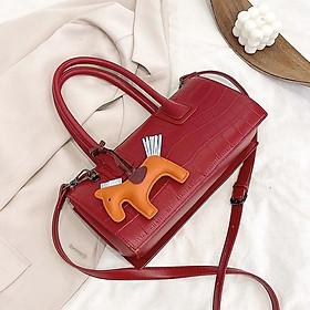 Túi xách nữ túi xách công suất lớn thời trang giản dị túi đeo một vai