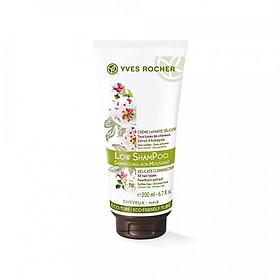 Dầu Gội Không bọt Yves Rocher Delicate Cleansing Cream (200ml)