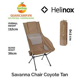 Ghế dã ngoại xếp gọn Helinox Savanna Chair Coyote Tan