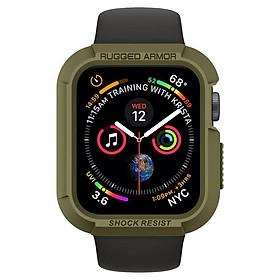Ốp Spigen Apple Watch Series 5 / 4 (44mm) Case Rugged Armor - hàng chính hãng