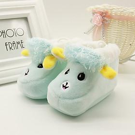 Giày giữ ấm hình dáng chú cừu xinh xắn cho các bé từ 6-12 tháng tuổi