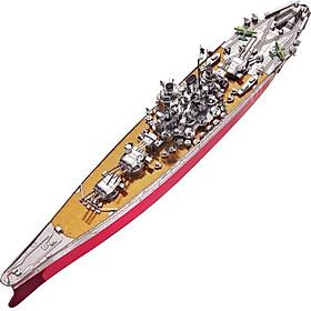 Mô Hình Lắp Ráp Kim Loại Piececool P101-Sry - Thiết Giáp Hạm Yamato (242 chi tiết)