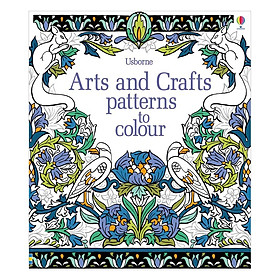 Usborne Arts and Crafts Patterns to Colour
