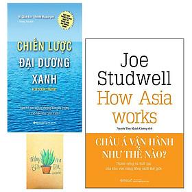 Combo Chiến Lược Đại Dương Xanh và Châu Á Vận Hành Như Thế Nào? ( Tặng Kèm Sổ Tay )