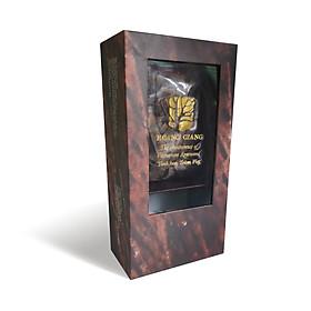 Trầm miếng Hoàng Giang - trầm hương nguyên chất - xông nhà, làm ấm sạch không khí - 100 gram