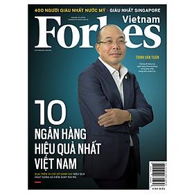 Forbes Việt Nam số 89 - 10 ngân hàng hiệu quả nhất Việt Nam