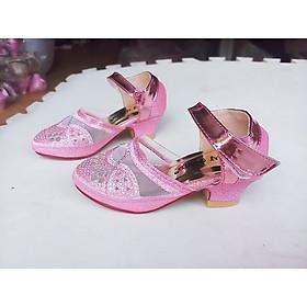 giày búp bê bé gái cao 4 phân siêu xinh