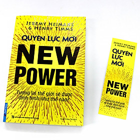 Combo 2 cuốn: Tứ Đại Quyền Lực, Quyền Lực Mới Tặng Kèm Bookmark Và Cuốn Đọc Vị Bất KỲ Ai