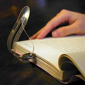 Đèn đọc sách siêu mỏng bóng led mini chuyên dùng đọc sách ánh sáng dịu không lóa gây mệt mỏi bảo vệ đôi mắt của bạn