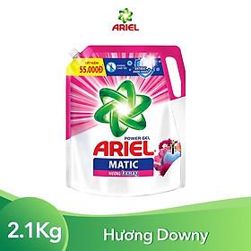 Nước Giặt Ariel Matic Hương Downy Túi 2.15Kg