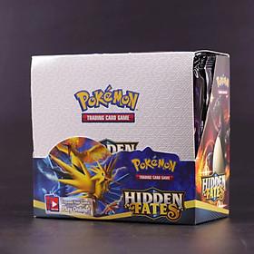 Bộ Thẻ Bài Pokemon 324 Thẻ Trading Card Game Sun&Moon Hidden fates TCG Sưu Tập Đẹp Đọc Đáo