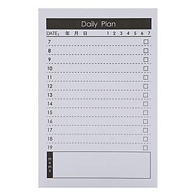 Tập Kế Hoạch Ghi Chú - Ngày Daily Plan