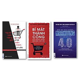 Combo Người bán hàng giỏi phải bán mình trước +  Bán mà như không : Marketing thực chiến trong thời 4.0 + Bí mật thành công của những người bán hàng xuất sắc ( tặng kèm bút bi )