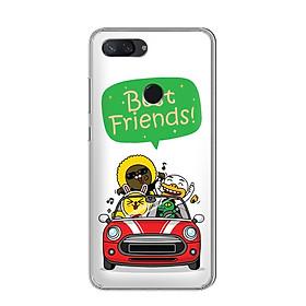 Ốp điện thoại Xiaomi Mi 8 Lite - 01196 7790 BF01 - Silicone dẻo - Hàng Chính Hãng