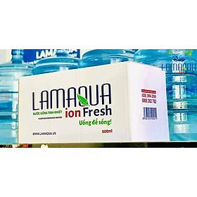 Thùng 18 Chai Nước LAMAQUA ION FRESH (500ml / Chai)