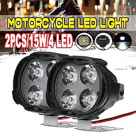 1 pcs1000LM Super bright 5700~6200K 6 Led Motorcycle Headlight bulb work Head Light Fog Driving Spot lamp Night Headlamp accessories for haulage Motor & Bike & Car & ORV