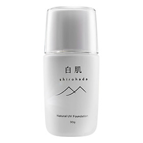 Kem Chống Nắng Shirohada Natural Uv Foundation (30ml)