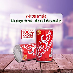 Chè Sen Long Nhãn Minh Trung Lốc 3 lon