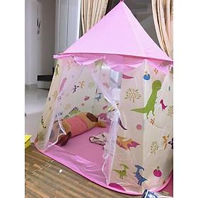 lều công chúa hoàng tử - nhiều mầu kích thước 120x95x125