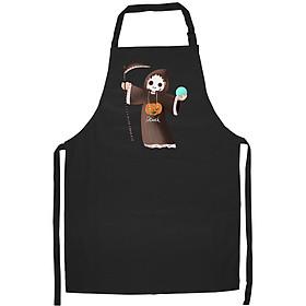 Tạp Dề Làm Bếp In Hình Thần chết - ACNTU004 – Màu Đen