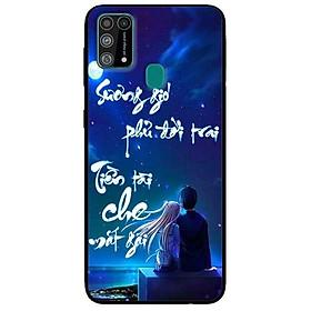 Ốp lưng dành cho Samsung Galaxy M31 mẫu Thư Pháp Sương Gió