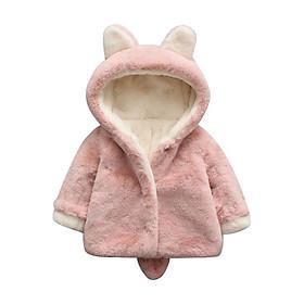 Áo khoác đuôi chồn cho bé từ 6 tháng đến 3 tuổi
