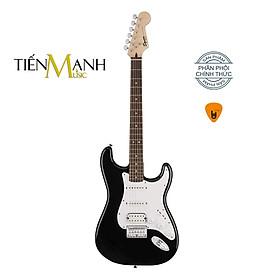 [Chính Hãng Mỹ] Đàn Guitar Điện Fender Squier Bullet Stratocaster HSS SQ STRAT - Black Electric - Kèm Móng Gẩy DreamMaker