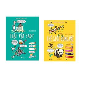 Combo 2 cuốn sách Hỏi đáp cùng em: Thật vậy sao?  + Thế giới động vật